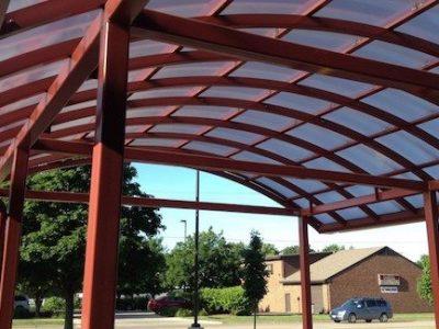 polycarbonate awning 1